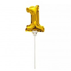 Ballon Number 1 toppers