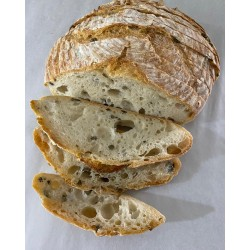 Sourdough Olives Bread