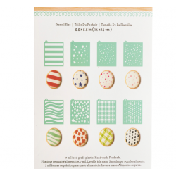 8 Sets Stencils For cookies