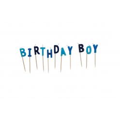 Birthday Boy Cake Candle