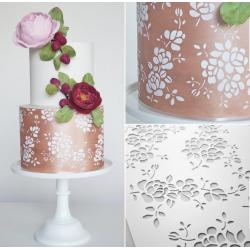 Cake flower Stencils