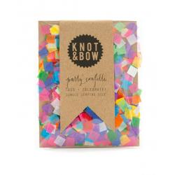 Colorful Square Single Serving Size Confetti