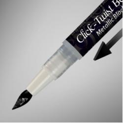 Edible Metallic Black Brush Colors