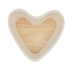 Heart Proofing Bread Basket