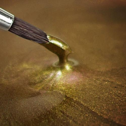 Metallic Light Gold Color