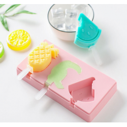 Summer Ice Cream Molds with Plastic sticks