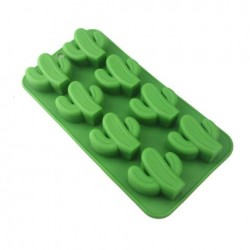 Cactus Silicone Molds For Ice Cubes, Candys, Fondant & Chocolate