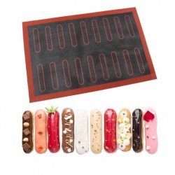 Silicone Baked Mats For Eclair & Baked Good