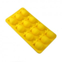 Pineapple Silicone Molds For Ice Cubes, Candys, Fondant & Chocolate