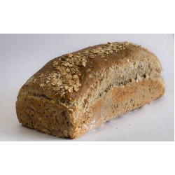 Toast Brown Bread with Oats